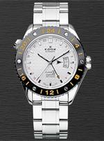 часы Edox Class-1 GMT Automatic Titanium