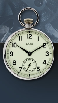часы Laco Navy pocket watch limited 20