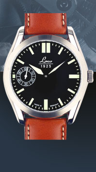 часы Laco Navy 44 black