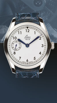 часы Laco Navy 44 white