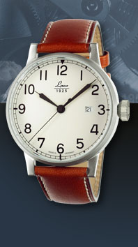часы Laco Navy 42 cream