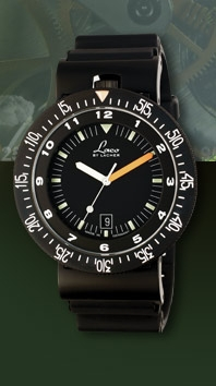 часы Laco Laco Squad watch black