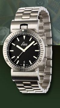 часы Laco Squad watch quartz steel/steel