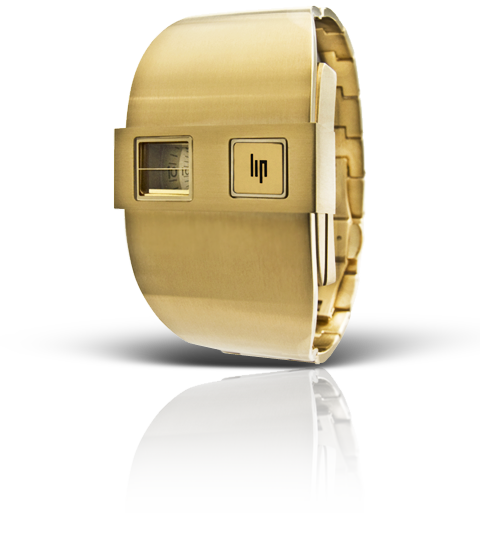 часы Lip De Baschmakoff métal or