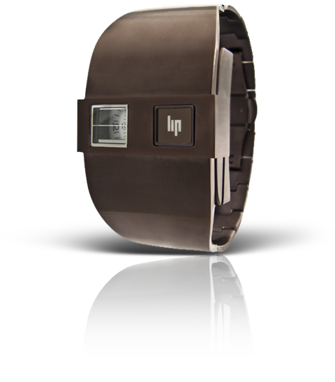 часы Lip De Baschmakoff métal marron