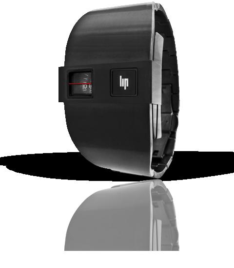 часы Lip De Baschmakoff métal noir