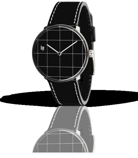 часы Lip Panoramic Quadrillage