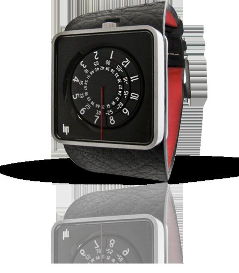 часы Lip Automythic noir & silver