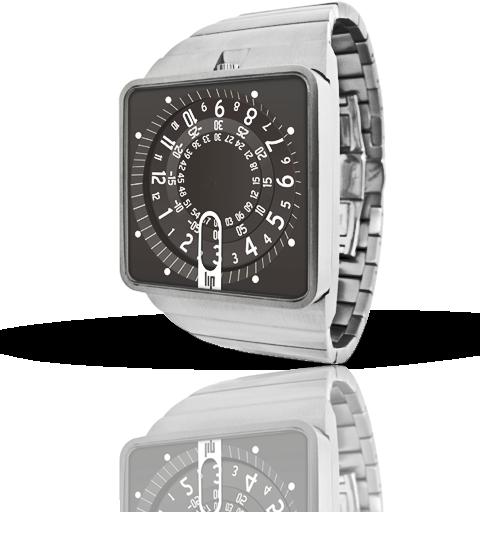 часы Lip Mythic metal silver choco