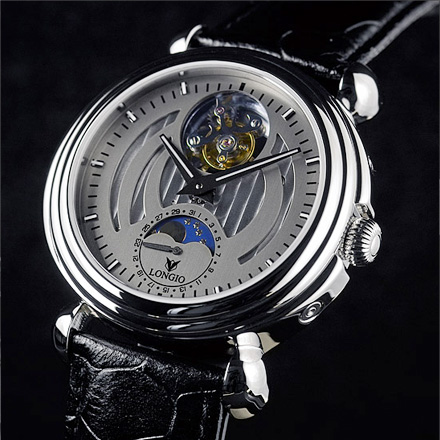 часы Longio Flying Tourbillon