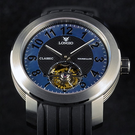 часы Longio Classic Tourbillon