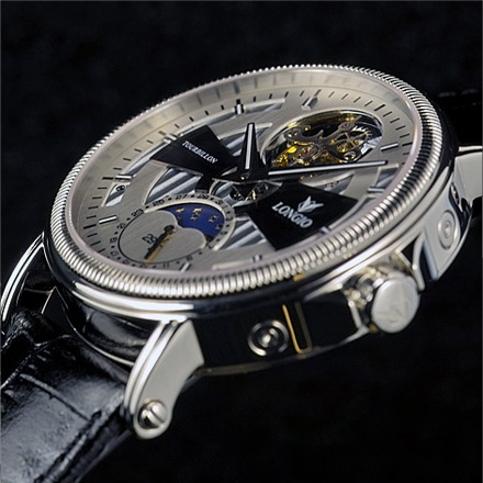 часы Longio Flying Tourbillon