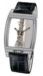 часы Corum Golden Bridge Gold & Diamonds