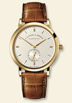 часы A. Lange & Sohne Saxonia