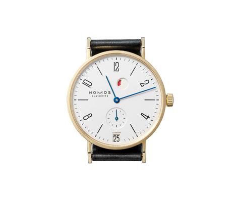часы Nomos Tangente Gold Datum Gangreserve