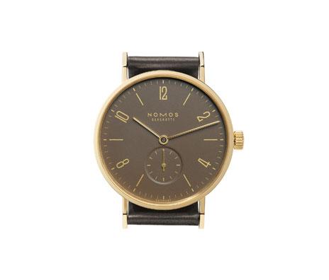 часы Nomos Tangente Gold mocca