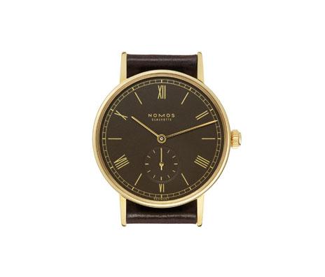 часы Nomos Ludwig Gold mocca