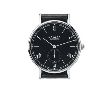 часы Nomos Ludwig Automatik Datum anthrazit