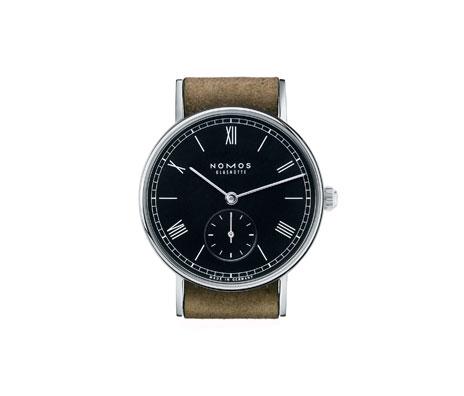 часы Nomos Ludwig 33 anthrazit