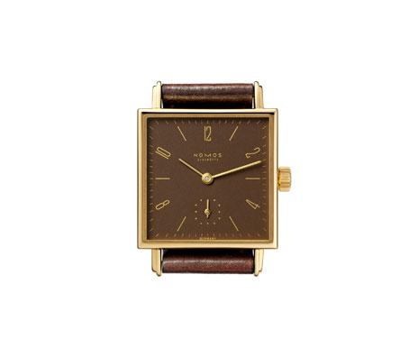 часы Nomos Tetra 27 Gold mocca