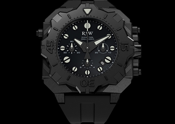 часы RSW Diving Tool Chronograph