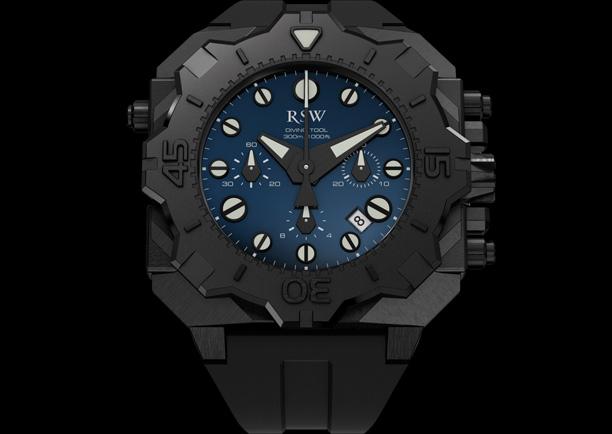 часы RSW Diving Tool Chronograph