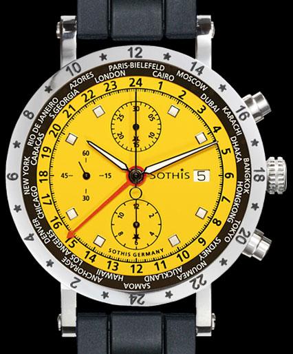 часы Sothis GMT Formula