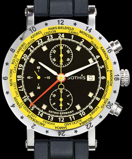 часы Sothis GMT Grand Prix
