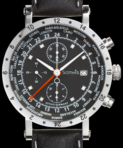 часы Sothis World Time Chrono 2