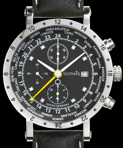 часы Sothis World Time Chrono 2