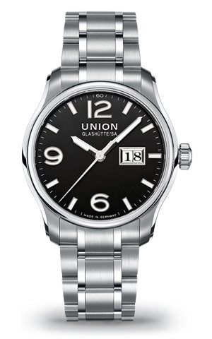 часы Union Glashutte Big date