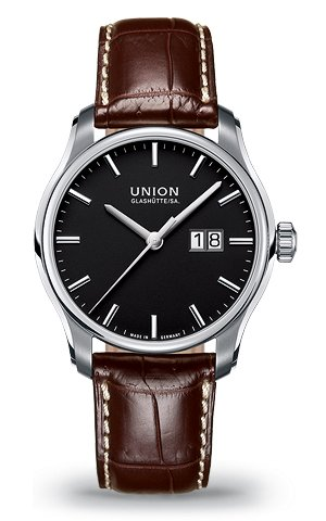 часы Union Glashutte Big date