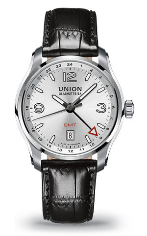 часы Union Glashutte GMT