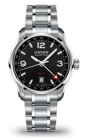 часы Union Glashutte GMT