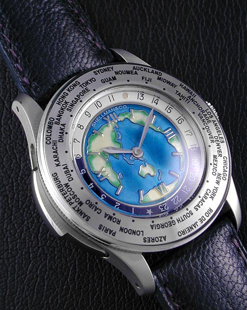 часы Shellman World Time Minute Repeater