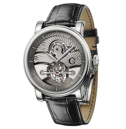 часы Arnold & Son Galvanic black