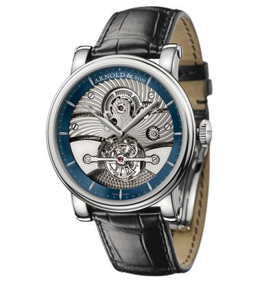 часы Arnold & Son Galvanic blue