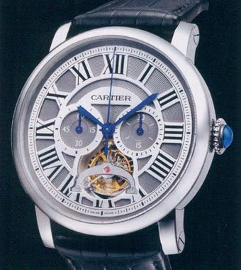 часы Cartier Tourbillon Chronograph