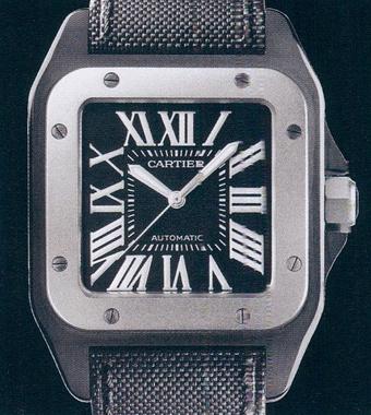 часы Cartier Santos 100 Carbon