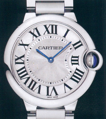 часы Cartier Ballon Blue LM