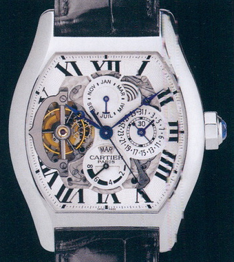 часы Cartier Tortue XL Grande Complication