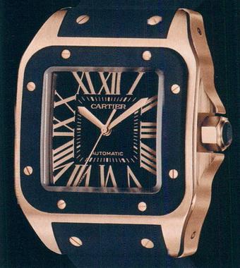 часы Cartier Santos 100 LM