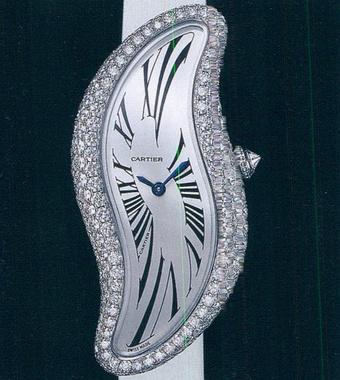 часы Cartier Baignoire SCartier Libre