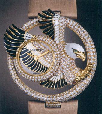 часы Cartier Eagle