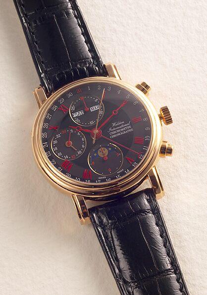 часы Waldan International Chronograph Chronometer