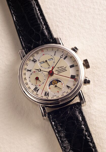 часы Waldan International Chronograph Chronometer