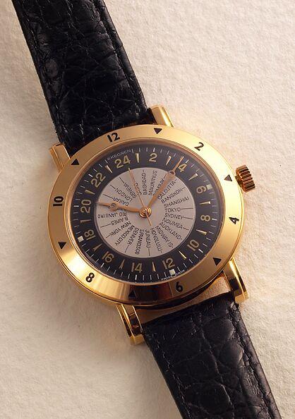 часы Waldan International World Time Chronometer