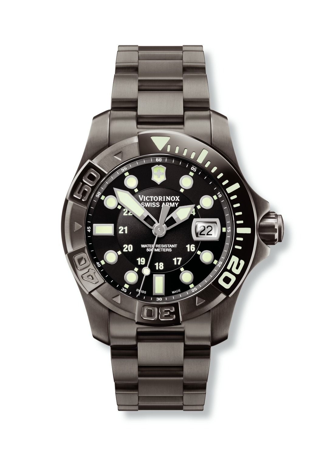 часы Victorinox Swiss Army Dive Master 500 Black Mecha