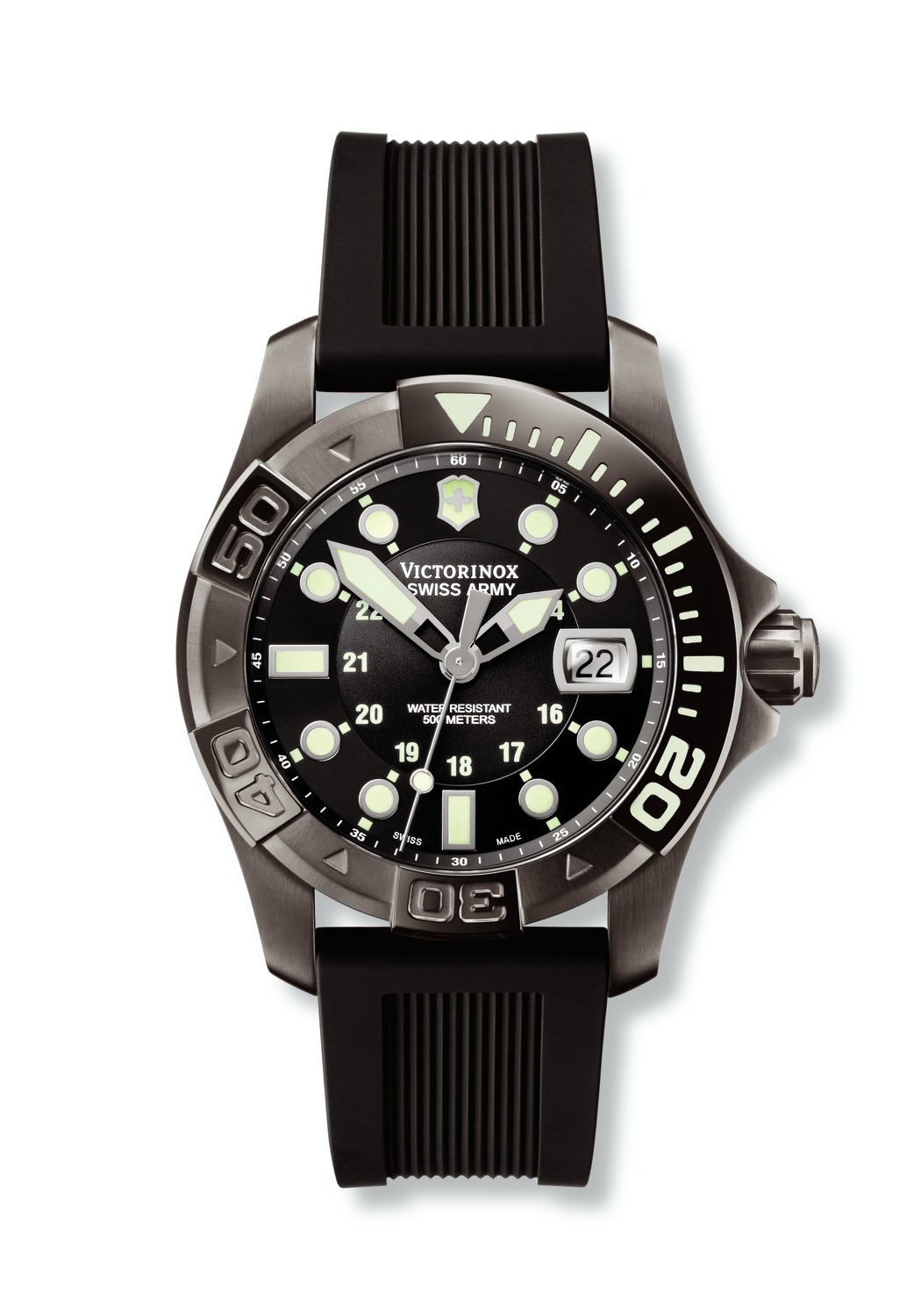 часы Victorinox Swiss Army Dive Master 500 Black Ice