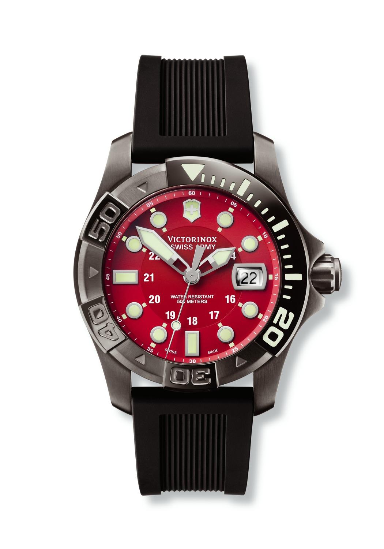 часы Victorinox Swiss Army Dive Master 500 Black Ice